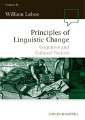Principles of Linguistic Change