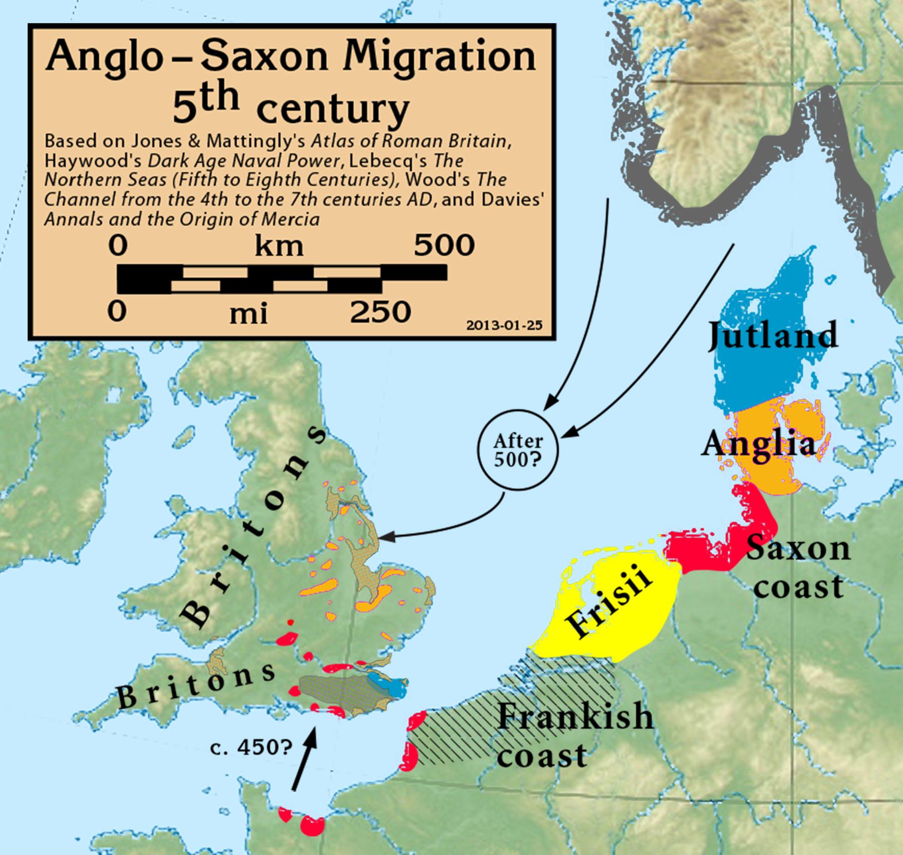 Map Of England 600 Ad.Linguistics 310 History Of English